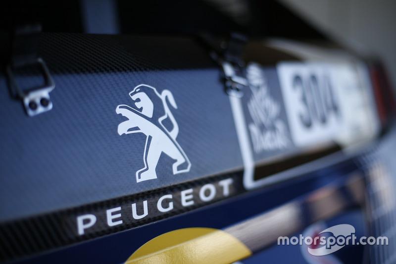 Team Peugeot Sport, detalle del Peugeot 3008 DKR