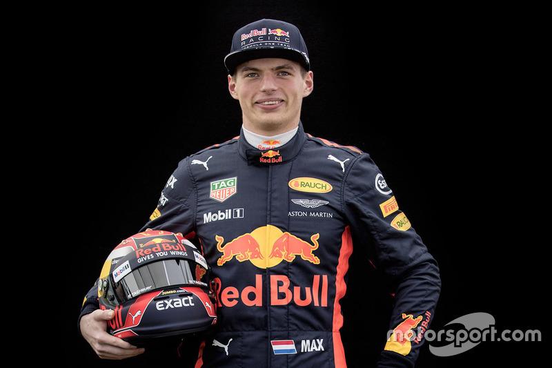 Max Verstappen, Red Bull Racing  (Contrato hasta final de 2019)