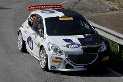 Kalle Rovanpera, Risto Pietilainen, Peugeot 208 T16, Peugeot Sport Italia