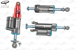Suspension dampers