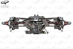 Ferrari F150 gearbox