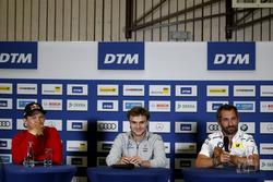 Mattias Ekström, Audi Sport Team Abt Sportsline, Audi A5 DTM, Lucas Auer, Mercedes-AMG Team HWA, Mercedes-AMG C63 DTM, Timo Glock, BMW Team RMG, BMW M4 DTM