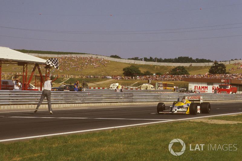 Sieg für Nelson Piquet, Williams FW11B