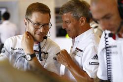 Andreas Seidl, Porsche LMP Team leader, Fritz Enzinger, head of Porsche Team LMP1