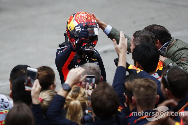 2. GP de China 2017: Max Verstappen (3º)