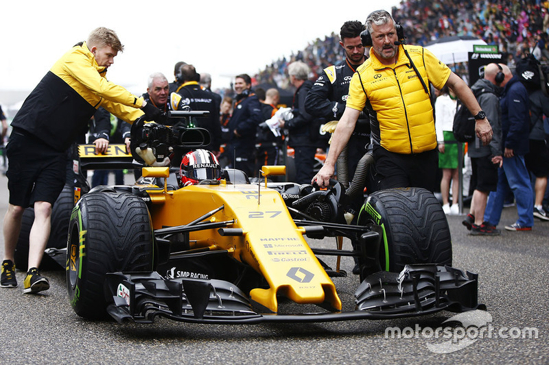 Нико Хюлькенберг, Renault Sport F1 Team RS17 (семь сходов)