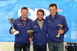Marcel Muzzarelli, Thierry Kilchenmann, Roland Schmid, podium Rennen2