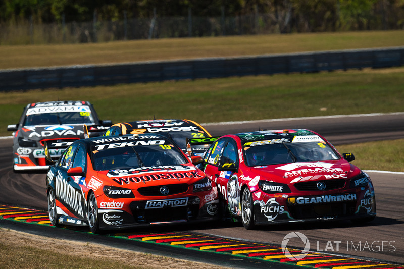 Will Davison, Tekno Autosports Holden, Nick Percat, Brad Jones Racing Holden