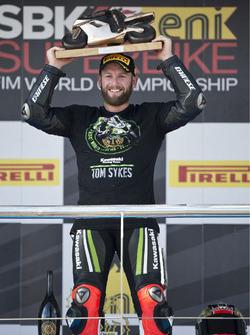 Tom Sykes, Kawasaki Racing, sacré Champion à Jerez, 2013
