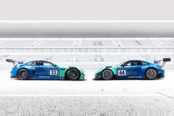 BMW M6 GT3 und Porsche GT3-R, Team Falken Motorsport