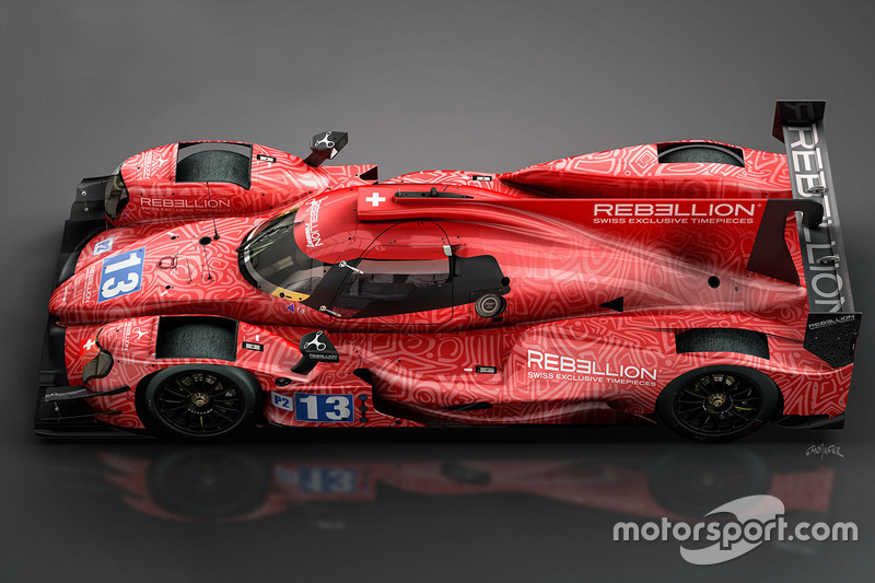 Rebellion Racing ORECA 07
