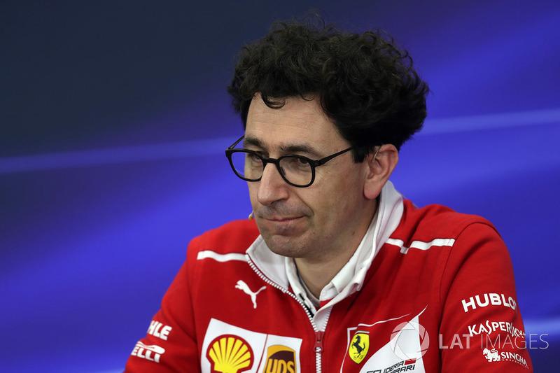 Mattia Binotto, jefe de motores de Ferrari