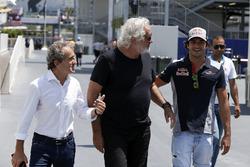 Alain Prost, Renault Sport F1 Team Special Advisor, Flavio Briatore, Carlos Sainz Jr., Scuderia Toro Rosso