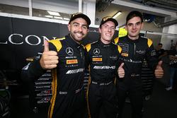 Polesitter: Adam Christodoulou, Yelmer Buurman, Luca Stolz, Mercedes-AMG Team Black Falcon
