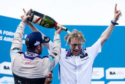 Победитель гонки - Сэм Берд, DS Virgin Racing Formula E Team