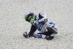 Sortie d'Eugene Laverty, Aspar MotoGP Team
