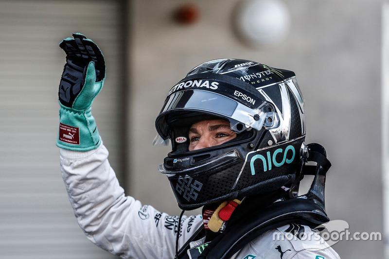 المركز الثاني نيكو روزبرغ، مرسيدس