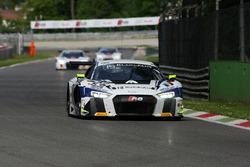 #26 Sainteloc Racing, Audi R8 LMS: Grégory Guilvert, Mike Parisy, Christopher Haase