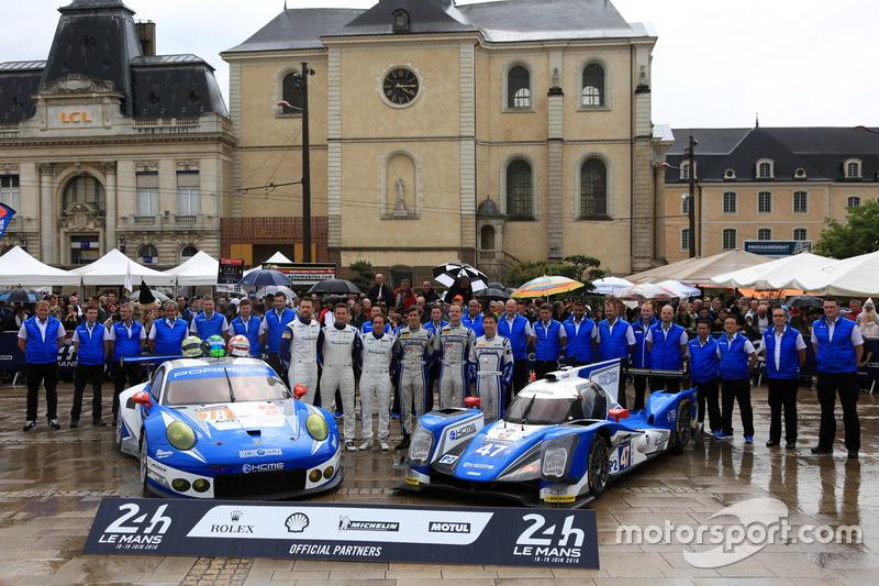 #78 KCMG Porsche 911 RSR: Крістіан Ріід, Вольф Хенцлер, Жоель Каматьяс та #47 KCMG Oreca 05 Nissan:
