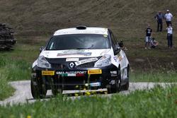 Roberto Vescovi, Giancarla Guzzi, Renault Clio R R3C #40
