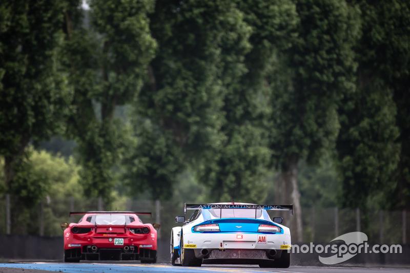 #99 Aston Martin Racing Aston Martin Vantage: Ендрю Ховард, Гері Хірш та Ліам Гріффін