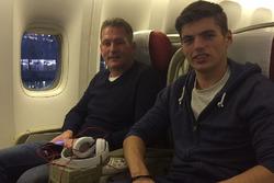Макс та Йос Ферстаппени направляються на Гран Прі Бразилії 2015