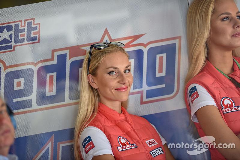 Grid girls Pramac Racing
