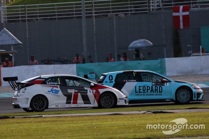 Roberto Colciago, Honda Civic TCR, Target Competition und Stefano Comini, Volkswagen Golf GTI TCR, L