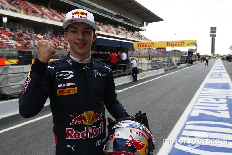Pierre Gasly, Toro Rosso (martes)