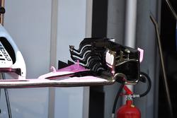 Force India VJM11 detalle del ala frontal