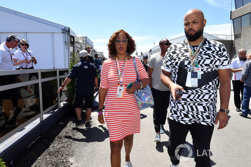 Gayle King, TV Host and Spinz Beats (CDN)
