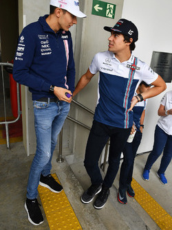 Esteban Ocon, Sahara Force India F1, Lance Stroll, Williams