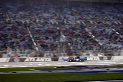 Brett Moffitt, Hattori Racing Enterprises, AISIN Atlanta Toyota Tundra takes the checkered flag