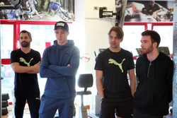 Timo Glock, Joel Eriksson, Augusto Farfus and Philipp Eng