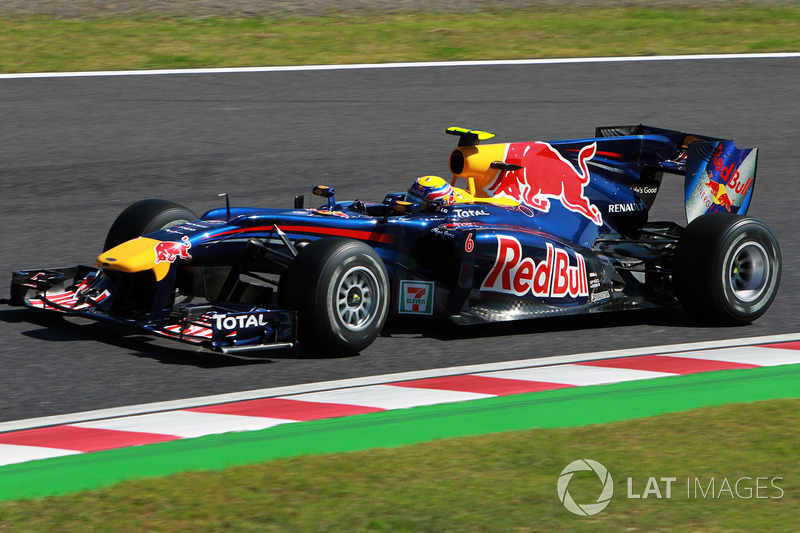 2010 : Red Bull RB6, motor Renault
