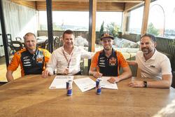 Brad Binder, Red Bull KTM Ajo with Pit Beirer, Aki Ajo