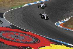 Sergey Sirotkin, Williams FW41 y Lance Stroll, Williams FW41