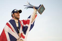 Podium: race winner, Sam Bird, DS Virgin Racing