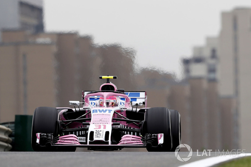 Esteban Ocon, Force India VJM11 Mercedes
