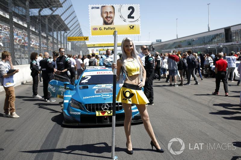 Grid girl of Gary Paffett Mercedes-AMG Team HWA