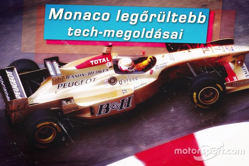 Forma-1 Monaco őrült megoldásai