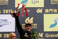 Podium: Tweede plaats Augusto Farfus, BMW Team Schnitzer, BMW M6 GT3