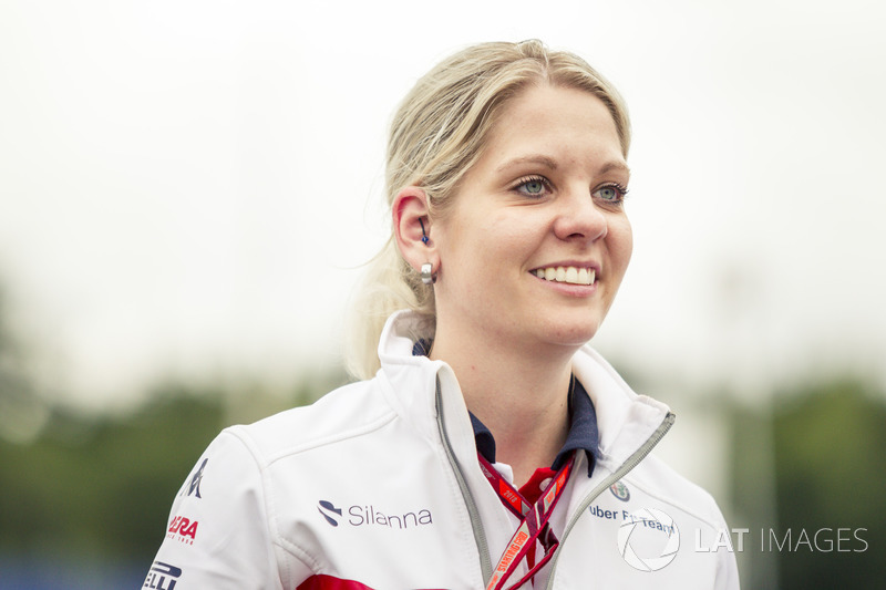 Katharina Zeilinger, Sauber