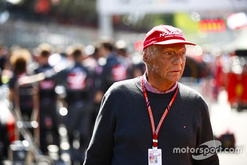 Невиконачний директор Mercedes AMG Нікі Лауда