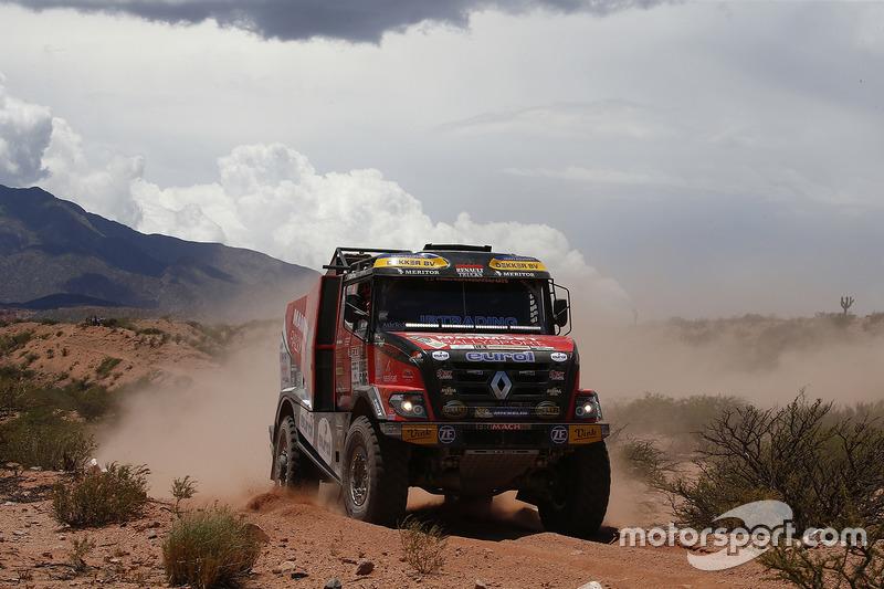 #506 Mammoet Rallysport: Martin van den Brink, Daniel Kozlovsky, Marcel Blankestijn