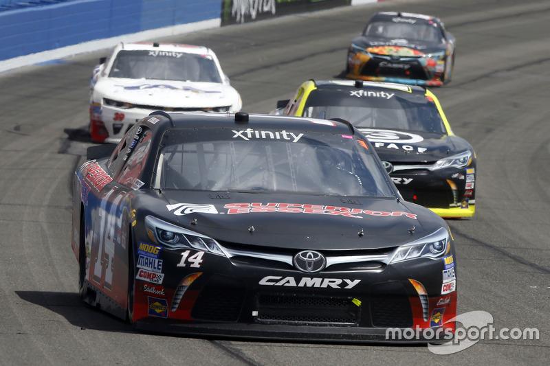 J.J. Yeley, TriStar Motorsports, Toyota; Matt Tifft, Joe Gibbs Racing, Toyota