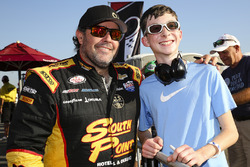 Brendan Gaughan, Richard Childress Racing Chevrolet with fans