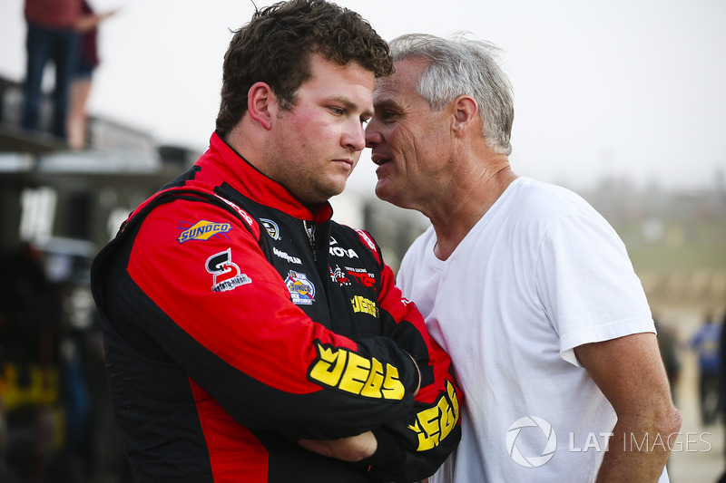 Cody Coughlin, ThorSport Racing Toyota y Kenny Wallace