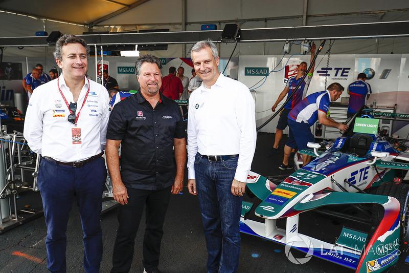 Alejandro Agag, Michael Andretti, Jens Marquardt