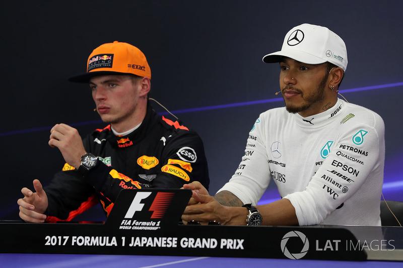 Conferencia de prensa: Max Verstappen, Red Bull Racing y Lewis Hamilton, Mercedes AMG F1